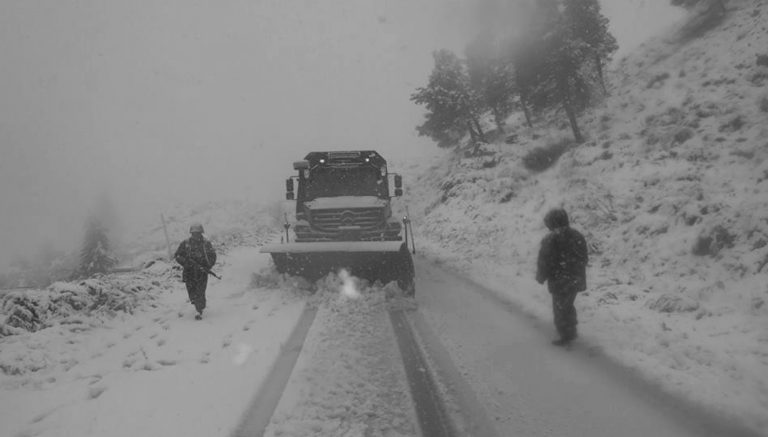 Algeria Mobilises Army To Deal With Snow Deluge