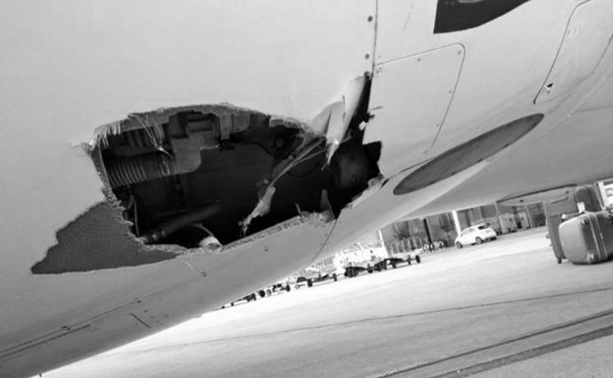 Majorca Plane Blown Off Course In Runway Crash