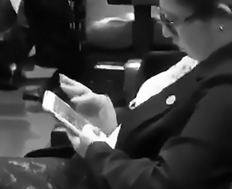 Bored MP Plays Candy Crush During Parliament Session