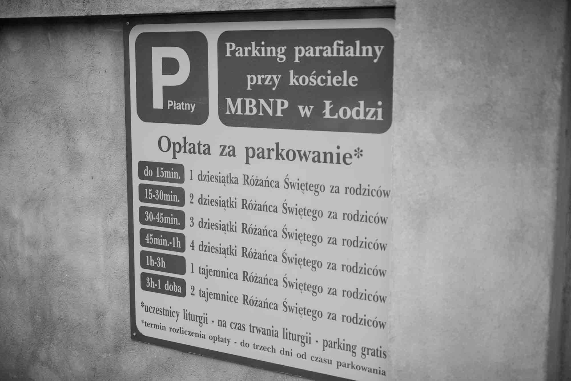Church Charges For Car Park With Prayers