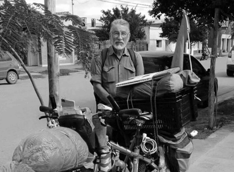 Grieving OAP On Epic Bike Ride Is Killed By Lorry