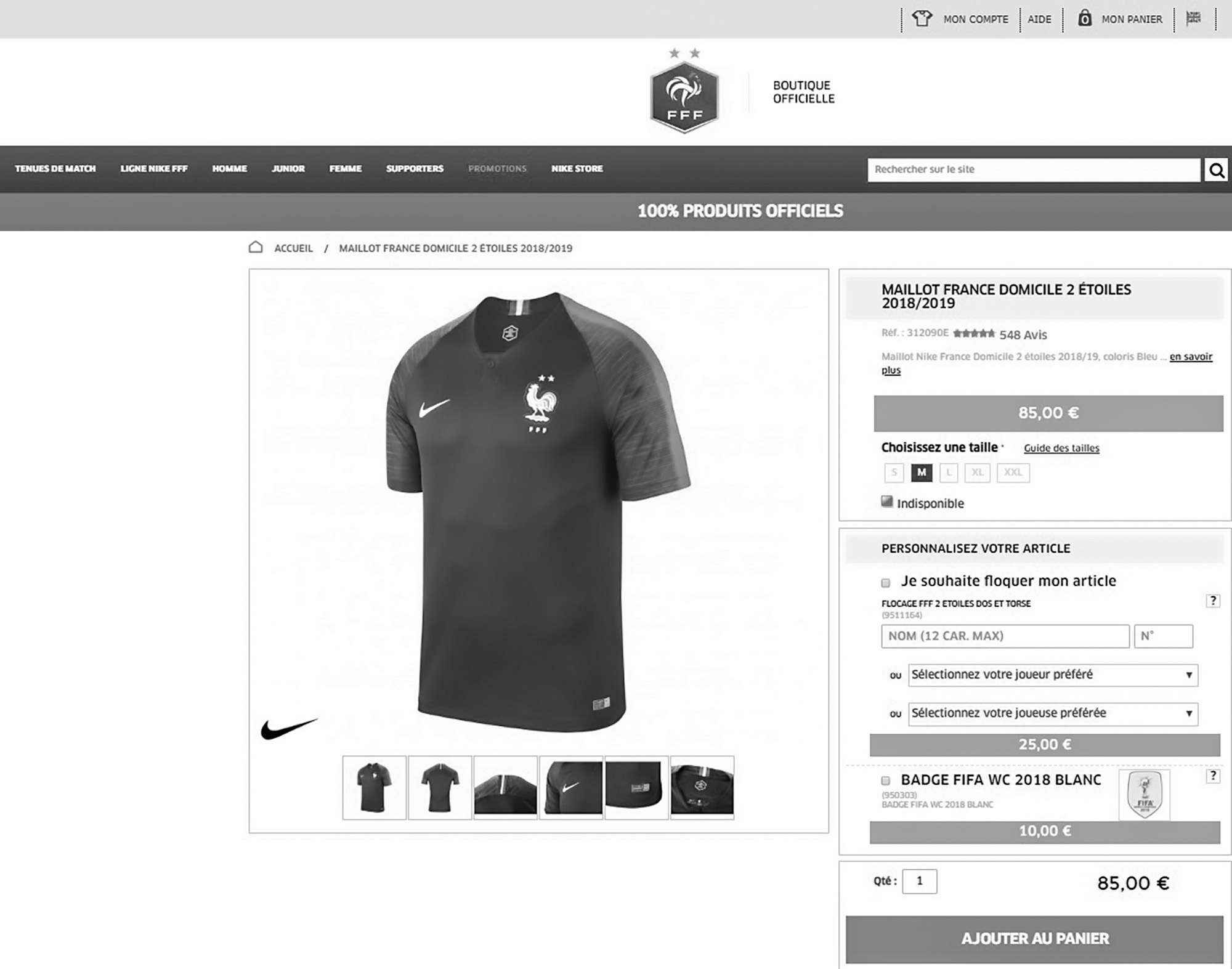 ea51a0bbf2a Nike have been slammed for failing to roll out enough France football team  shirts with two stars after the last World Cup leaving fans disappointed  and ...
