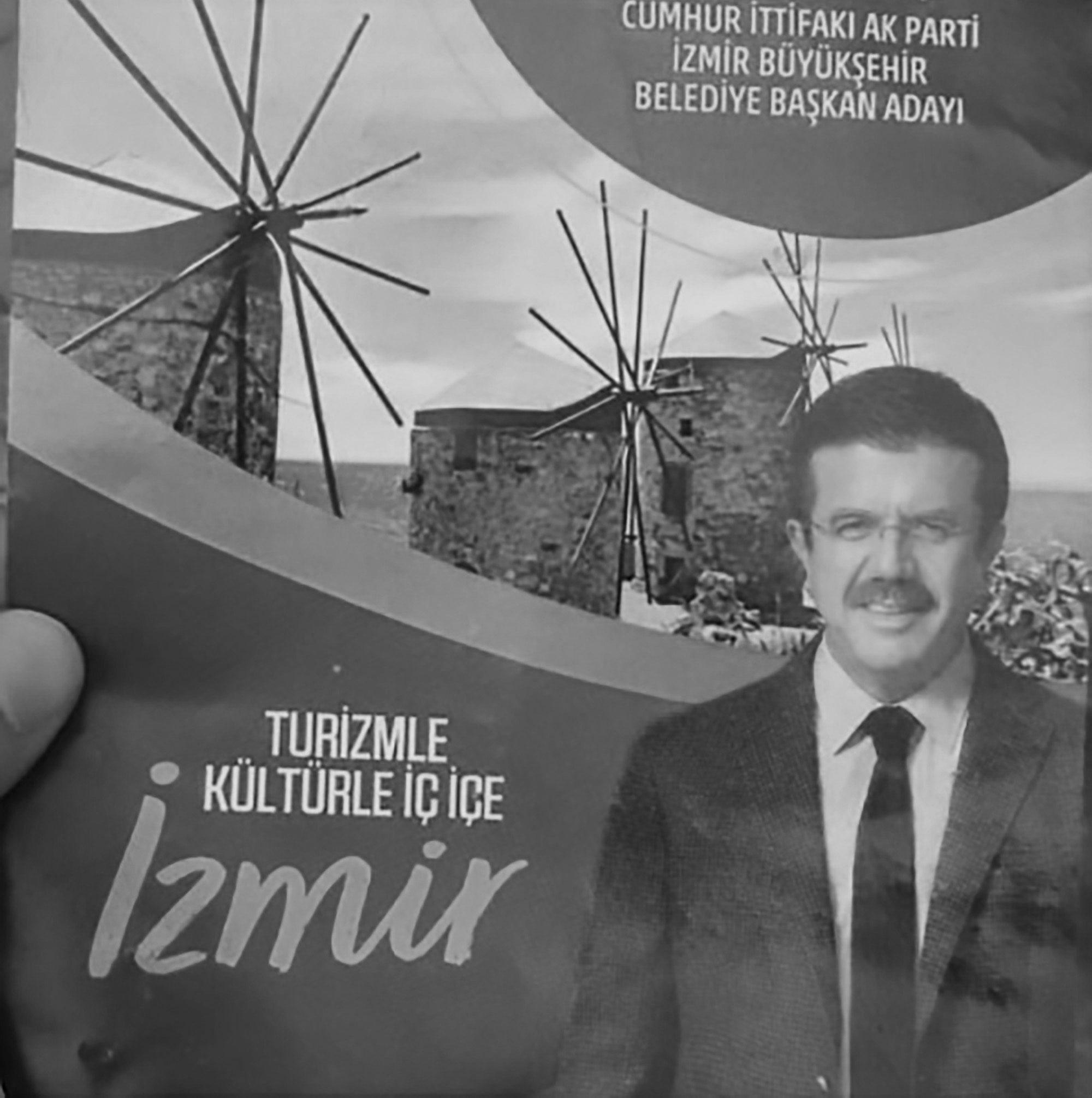 Turkish Candidate Uses Greek Island Photo On Manifesto