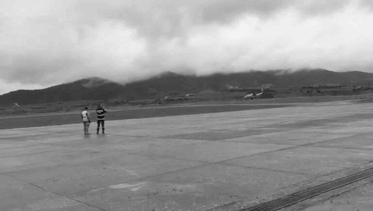 9 Injured As Landing Army Plane Bounces Along Runway
