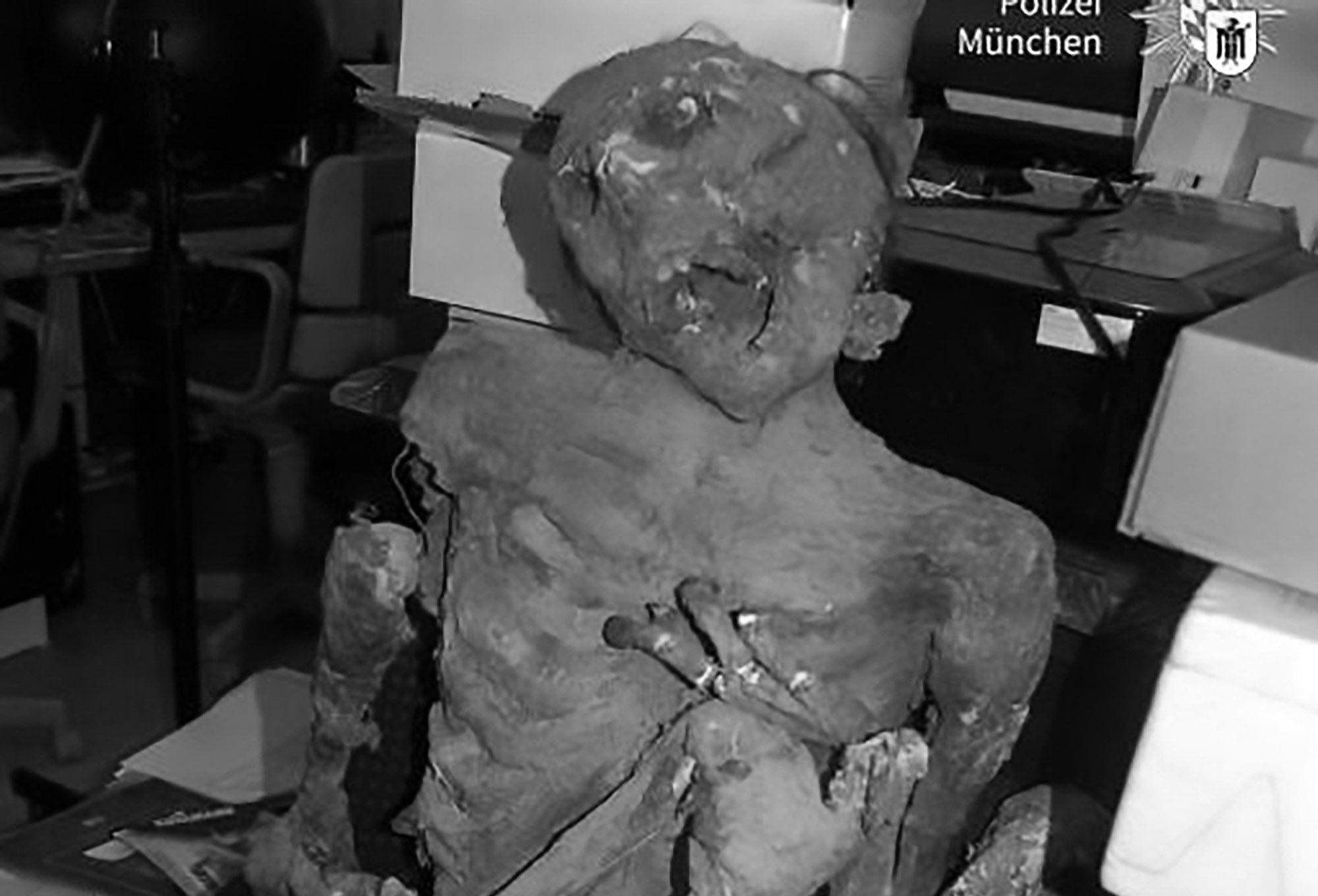 Terrified OAP Calls Cops After Finding Fake Mummy Prop