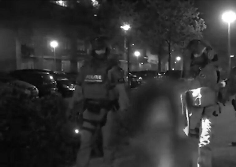 SWAT Team Busts Dutch Newspaper Car Bomb Suspects