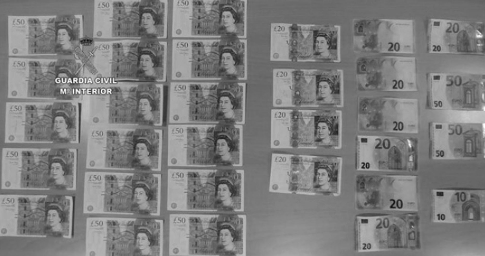 Brit Family Arrested For Splashing Fake Cash In Majorca