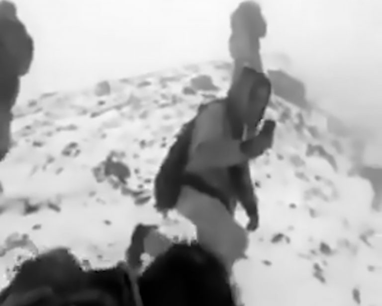 Daredevil Climbers Scale Active Popocatepetl Volcano