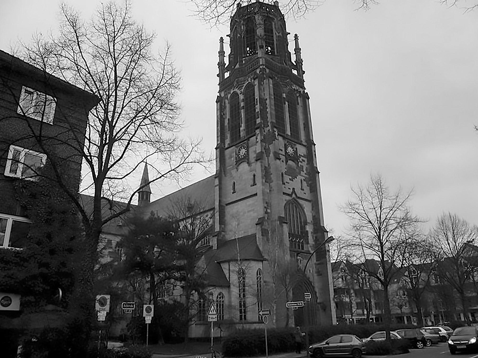 Sad Spireless German Church Gets Futuristic LED Roof