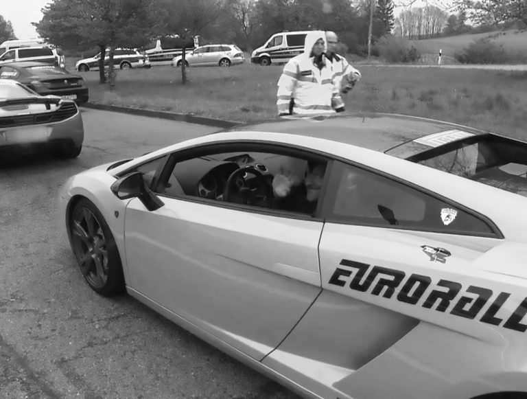 Cops Bust 107 Sports Cars In Autobahn Boy Racer Rally