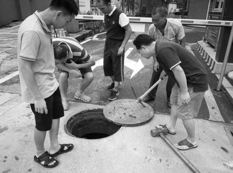 Search For Tot Who Fell Down Manhole In Front Of Gran