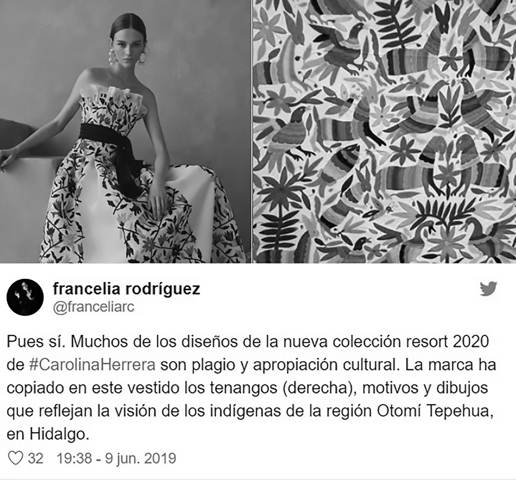 Top Designer Who Dressed Obama Stole Idea From Mexico