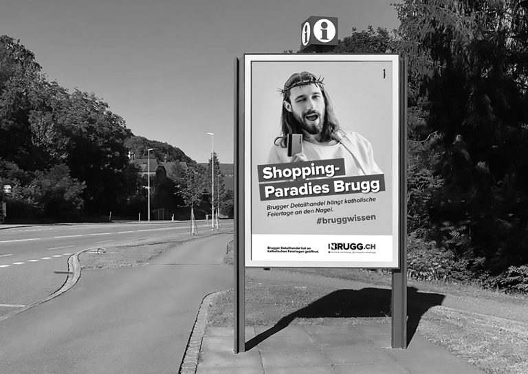 Jesus Credit Card Poster Sparks Sarcastic Ad From Church