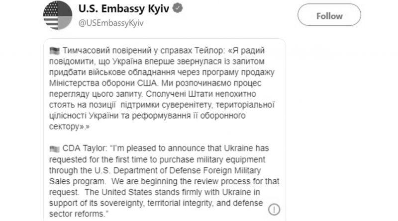 Credit: CEN/@USEmbassyKyiv