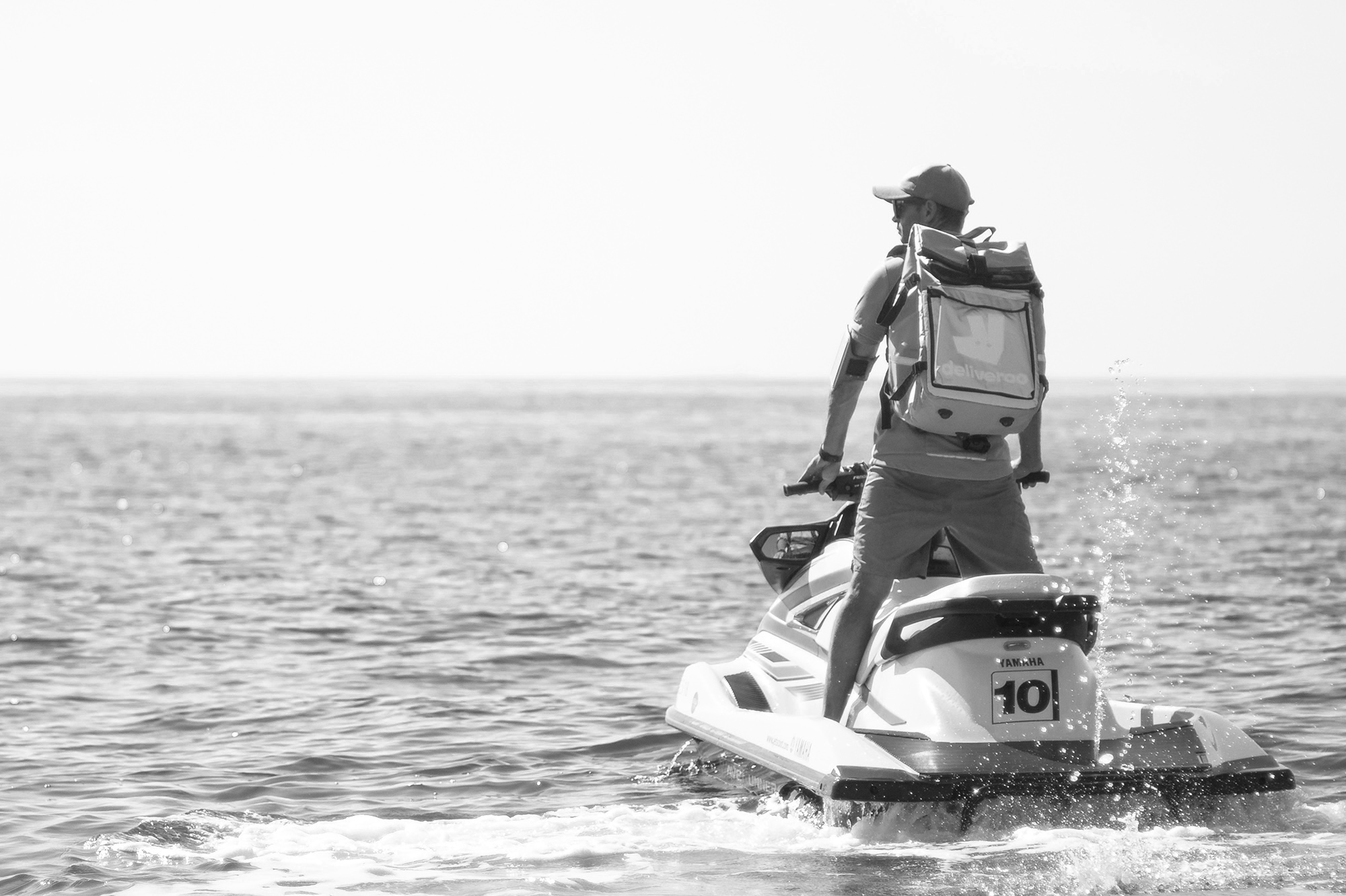 Brit Co Deliveroo To Use Jet Skis To Deliver To Boats