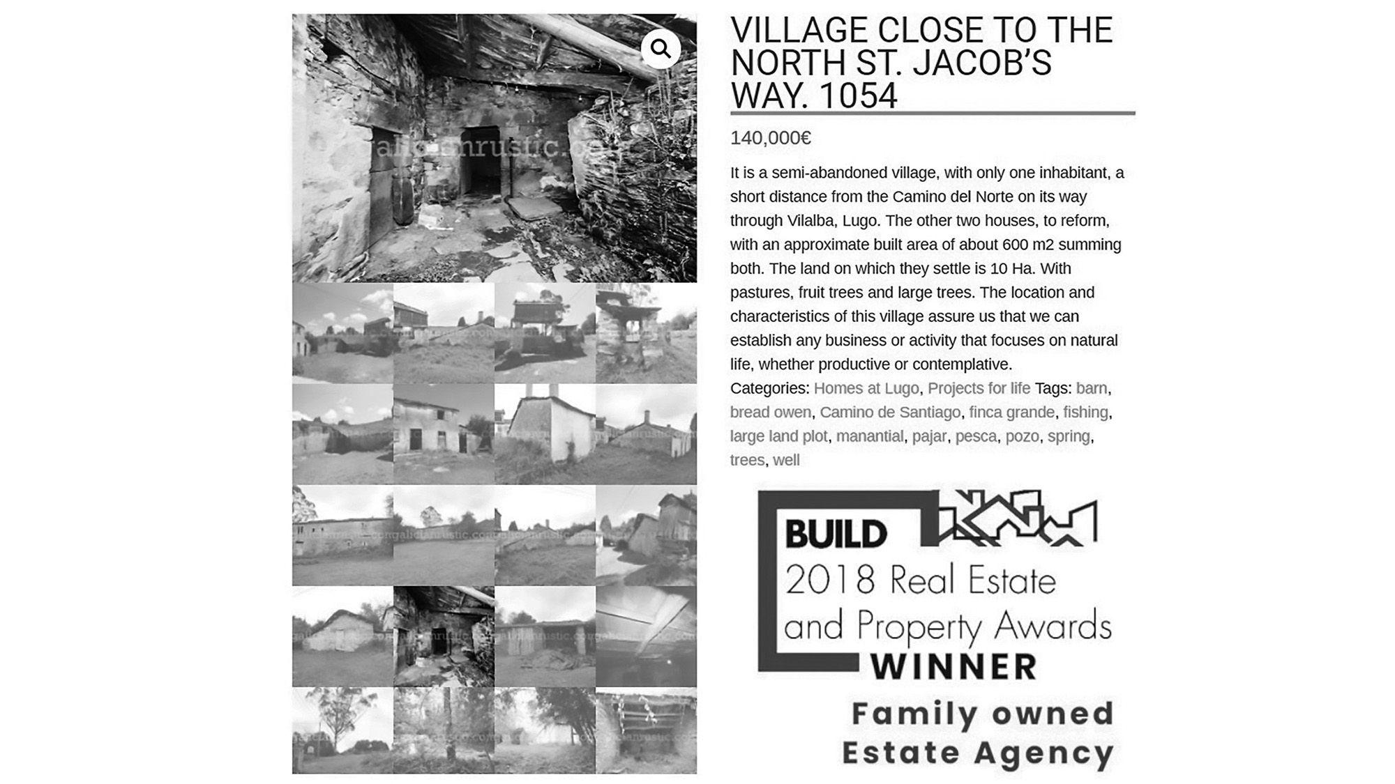 OAP Pals Buy Derelict Village To Turn Into Own Shangri-La