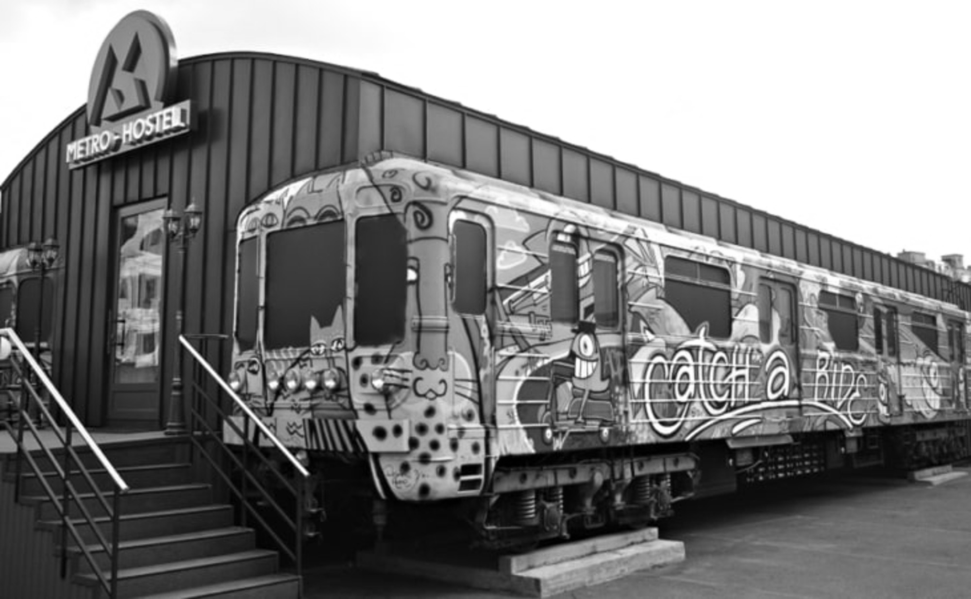 Underground Train Carriage Hotel Opens For Business