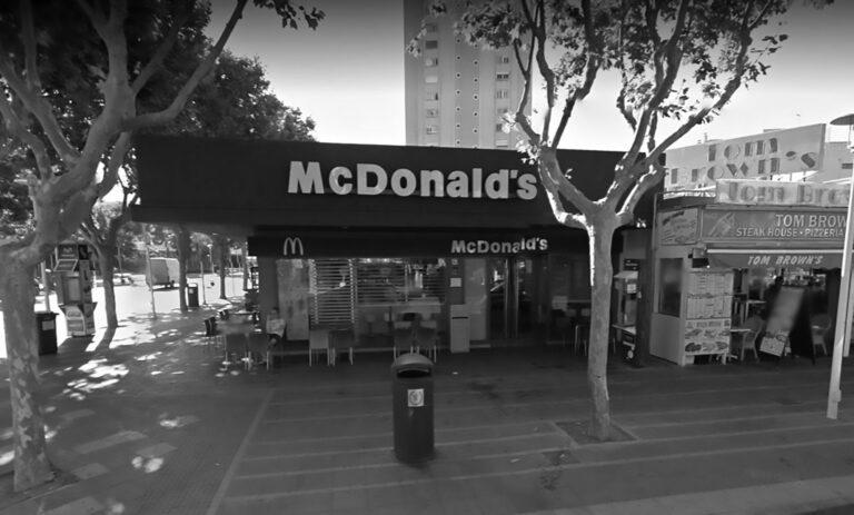 Brit Arrested In Majorca Over McDonalds Kiss Attack