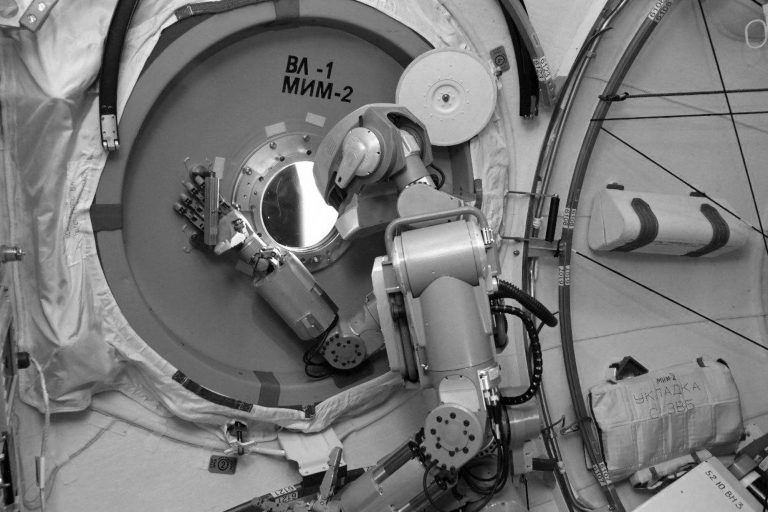 Moment Humanoid Robot Lends A Hand On Board The ISS
