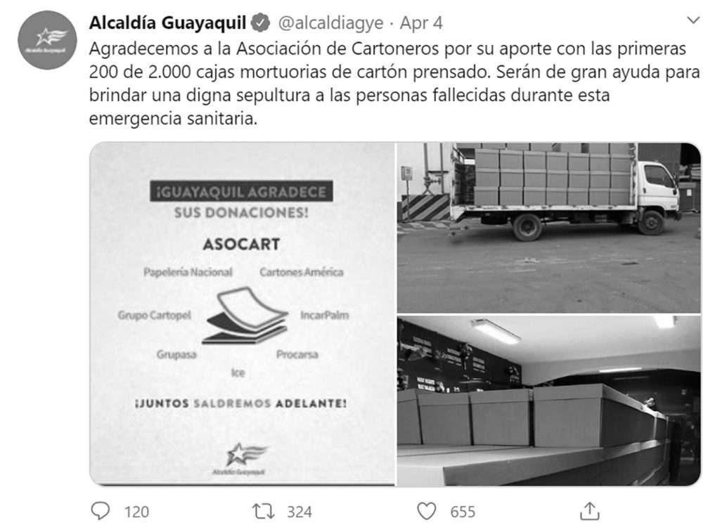 Credit: Newsflash/@alcaldiaguayaquil