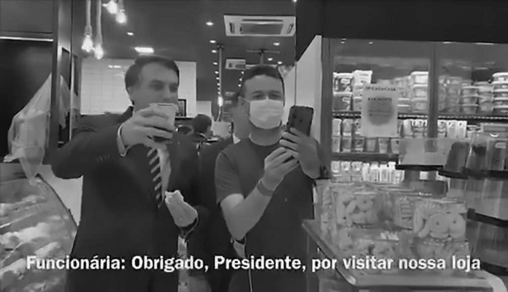 Credit: Newsflash/@bolsonaro.enb