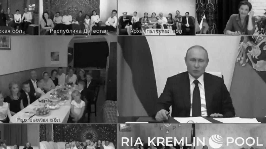Credit: Newsflash/@Kremlinpool_RIA