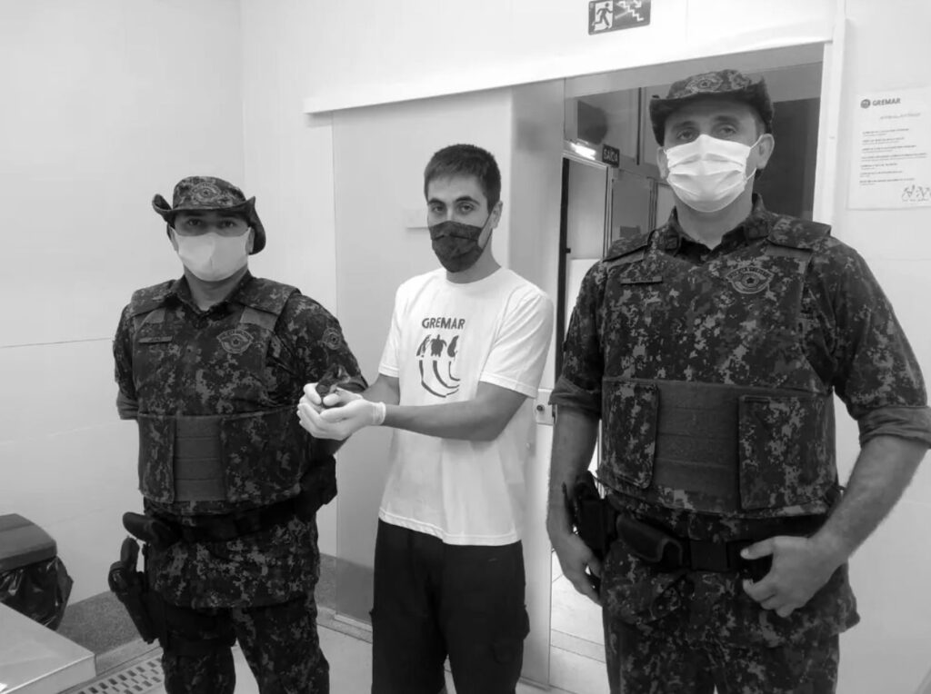 Credit: Policia Militar Ambiental/Newsflash