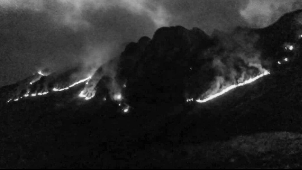 Credit: Prevencion Incendios Forestales Cusco/Newsflash