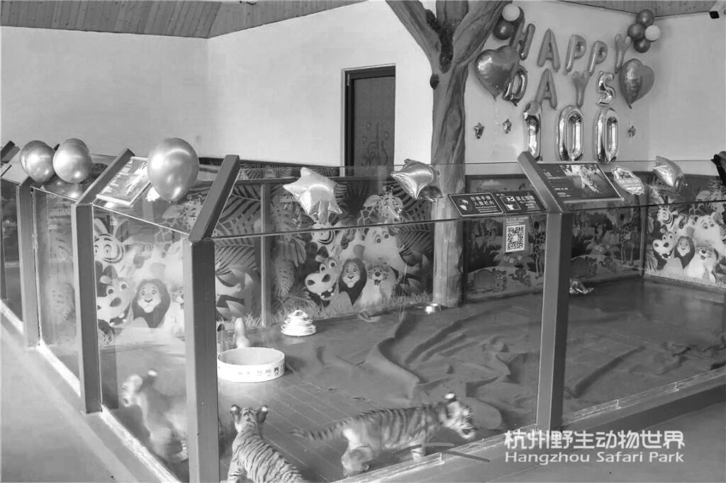 Credit: Hangzhou Wildlife World/Newsflash