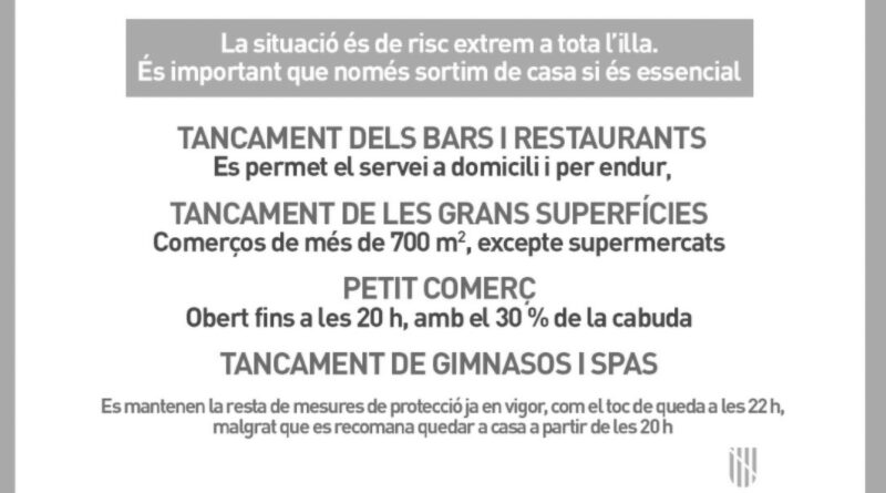 Credit: @GovernIllesBalears/Newsflash