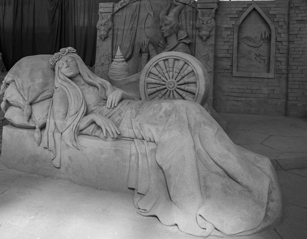 Credit: Sandskulpturen Ausstellung Travemunde - Yves Weiske/Newsflash
