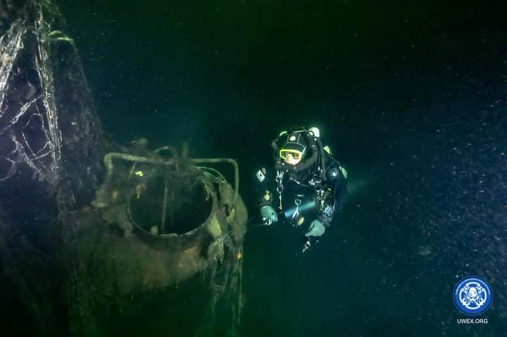 Credit: Reconnaissance and diving team/Newsflash