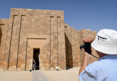 Credit: The Egyptian Ministry of Tourism and Antiquities/Newsflash